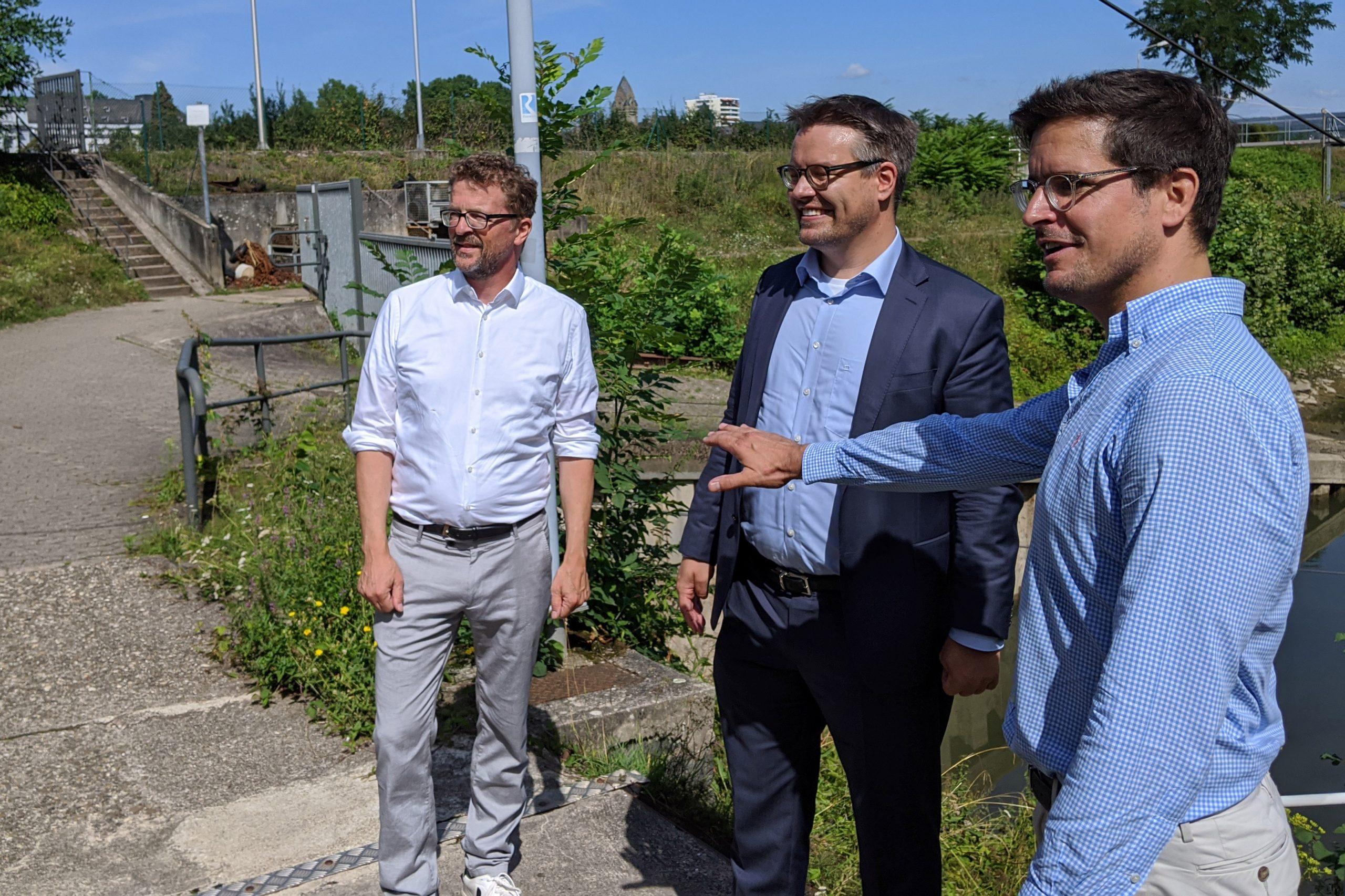 Hafen Ehrenbreitstein – Grüne und Freie Wähler setzen sich für Umnutzung ein