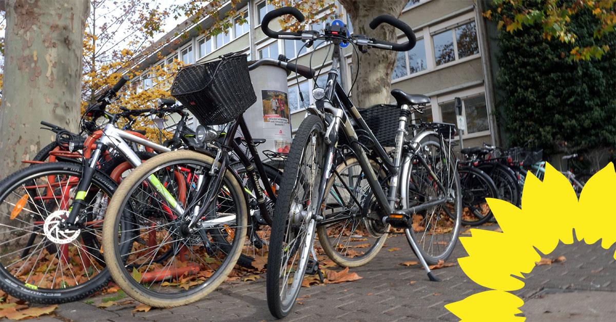 Auf Antrag der GRÜNEN: Koblenzer Schulen bekommen mehr Fahrradabstellanlagen