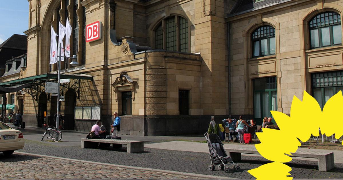 Auf Antrag der GRÜNEN: Sozialarbeit am Hauptbahnhof wird gestärkt