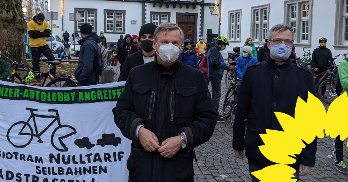 Über 8000 Unterschriften für Radentscheid machen dringenden Handlungsbedarf deutlich