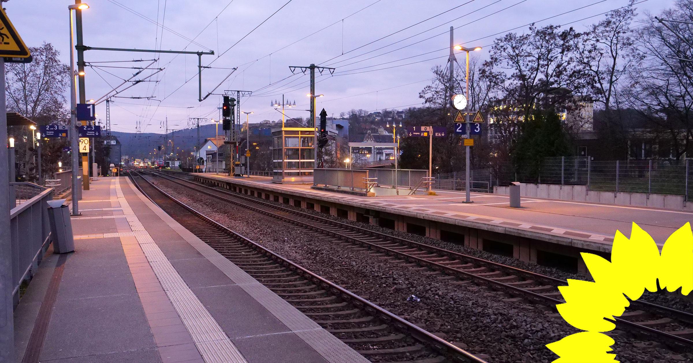 Neubau und Sanierung von Bahnhaltepunkten auch in Koblenz notwendig