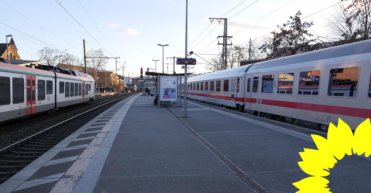 Grüne Koblenz machen sich stark für die Stationsoffensive der Bahn: Züge sollen im Verwaltungszentrum Rauental halten