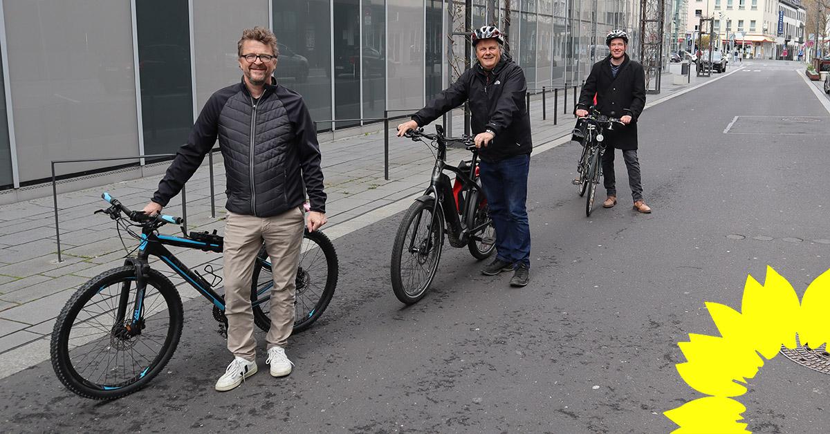 Auf Initiative der GRÜNEN Ratsfraktion: Casinostraße wird Fahrradstraße