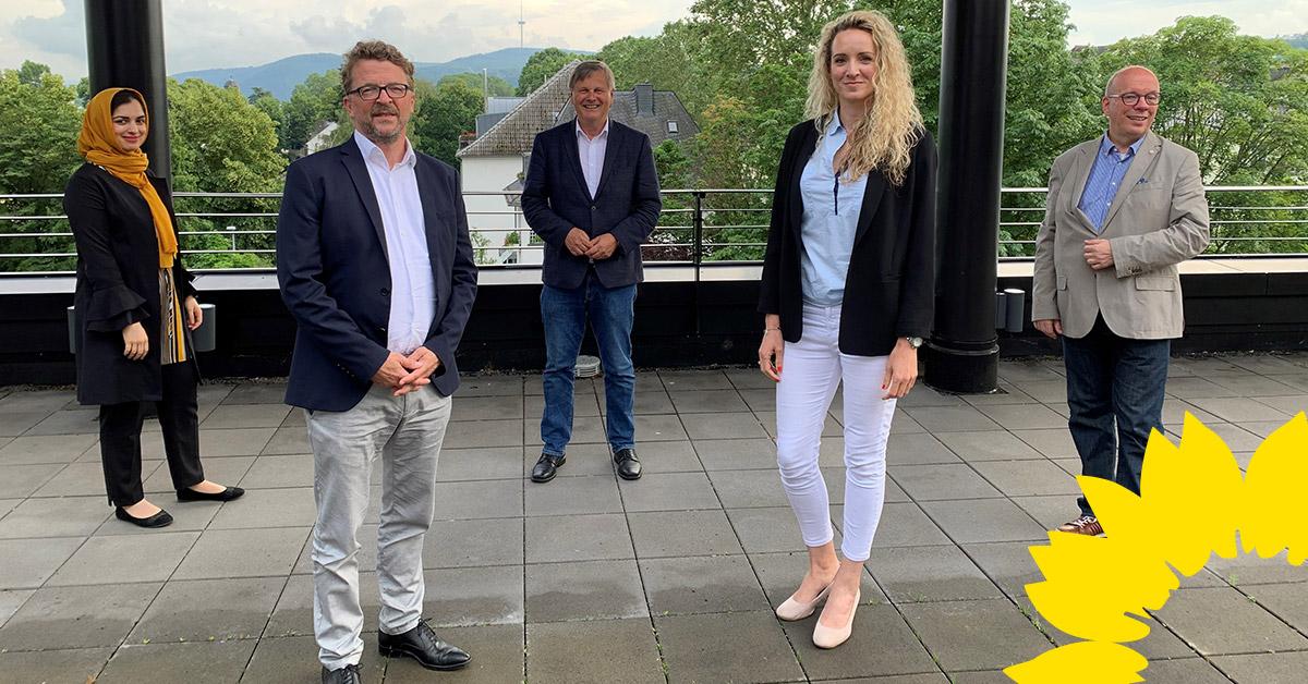 GRÜNE Stadtratsfraktion: Carl-Bernhard von Heusinger als Fraktionsvorsitzender bestätigt