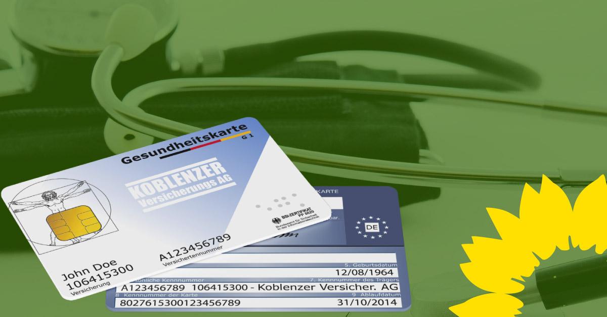 GRÜNE begrüßen Einführung der elektronischen Gesundheitskarte und damit verbundene Entlastung der Verwaltung