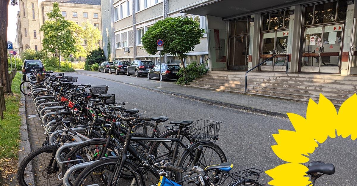 Antrag der GRÜNEN Ratsfraktion sorgt für mehr Fahrradabstellplätze an Koblenzer Schulen